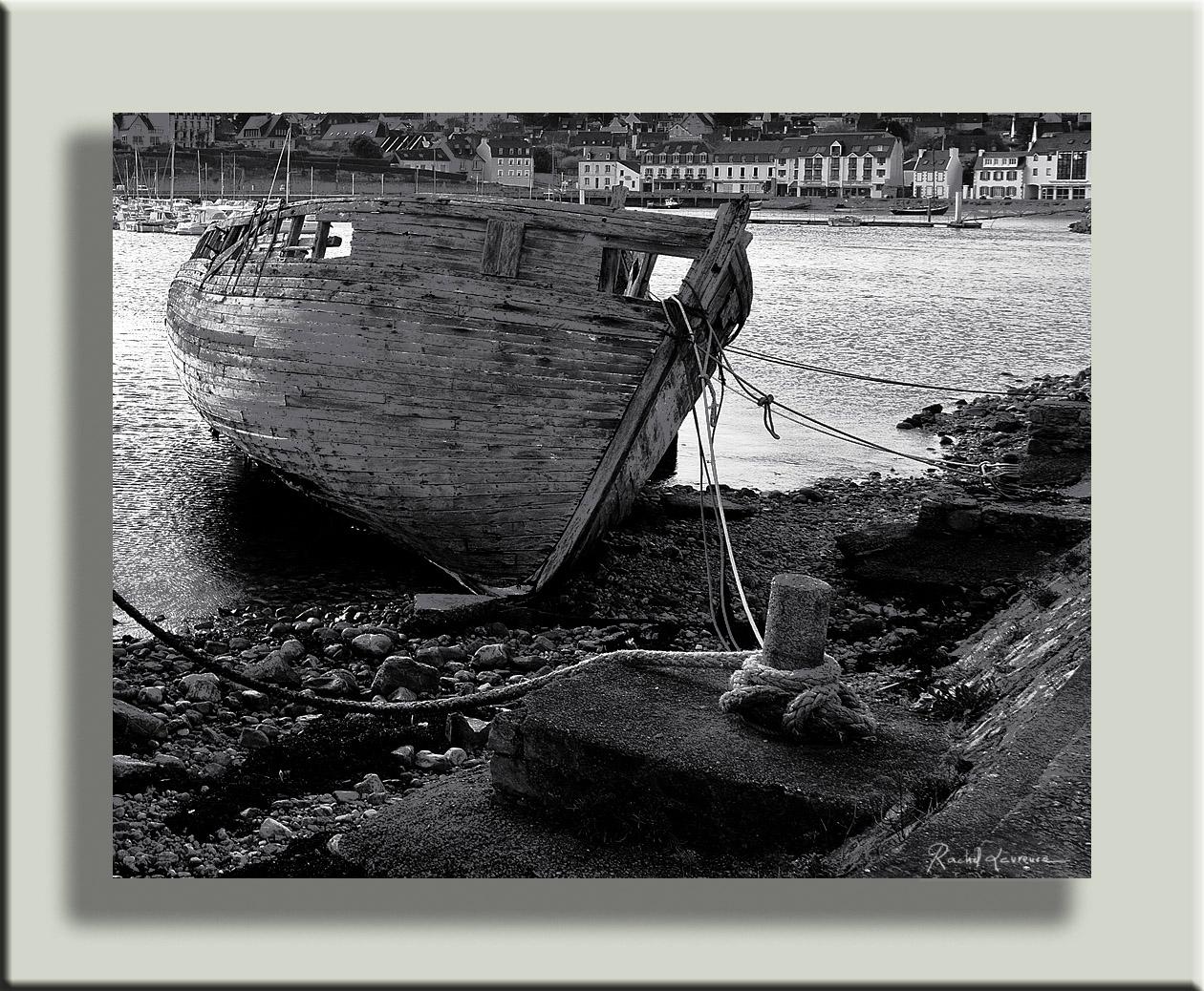 Cimetière de bateau Camaret-sur-Mer Finistère