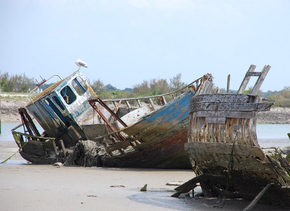 cimetiere de bateaux