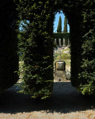 Cimetière de Forcalquier (Alpes de Haute Provence)