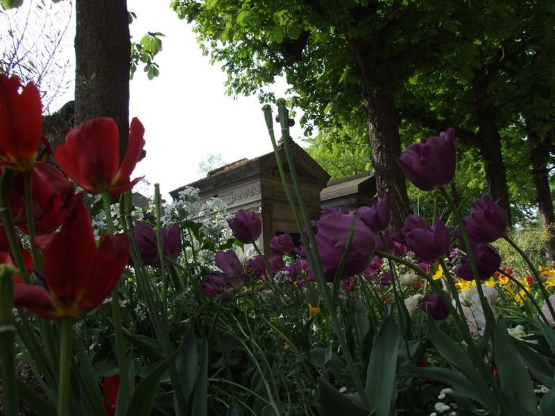 cimetiere du pere Lachaise a Paris