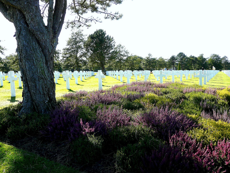 cimetière Omaha Beach.