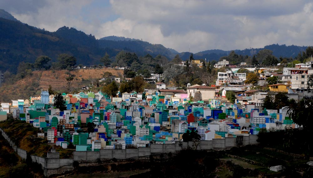 Cimitero Chicicastenago (Guatemala)