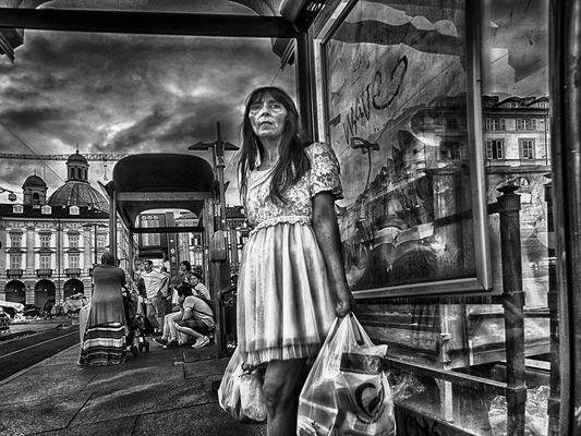 Cinderella at Bus Stop Junction
