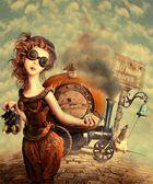 Cinderella. Steampunk story