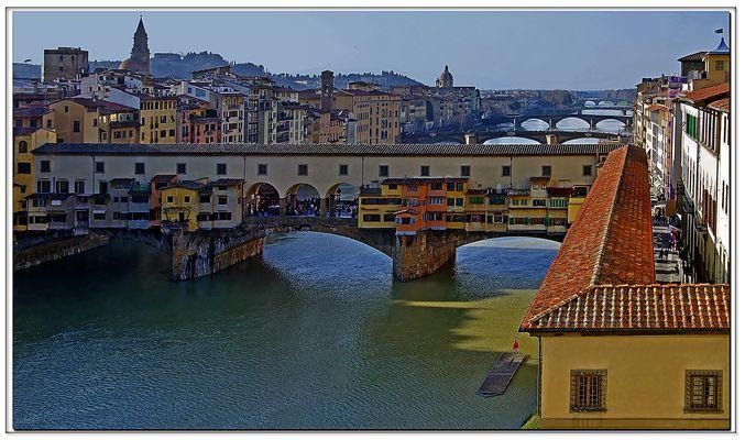 cinq ponts de florence...