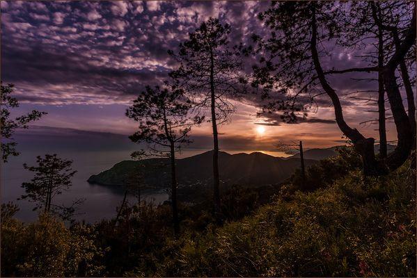 Cinque Terre am Abend