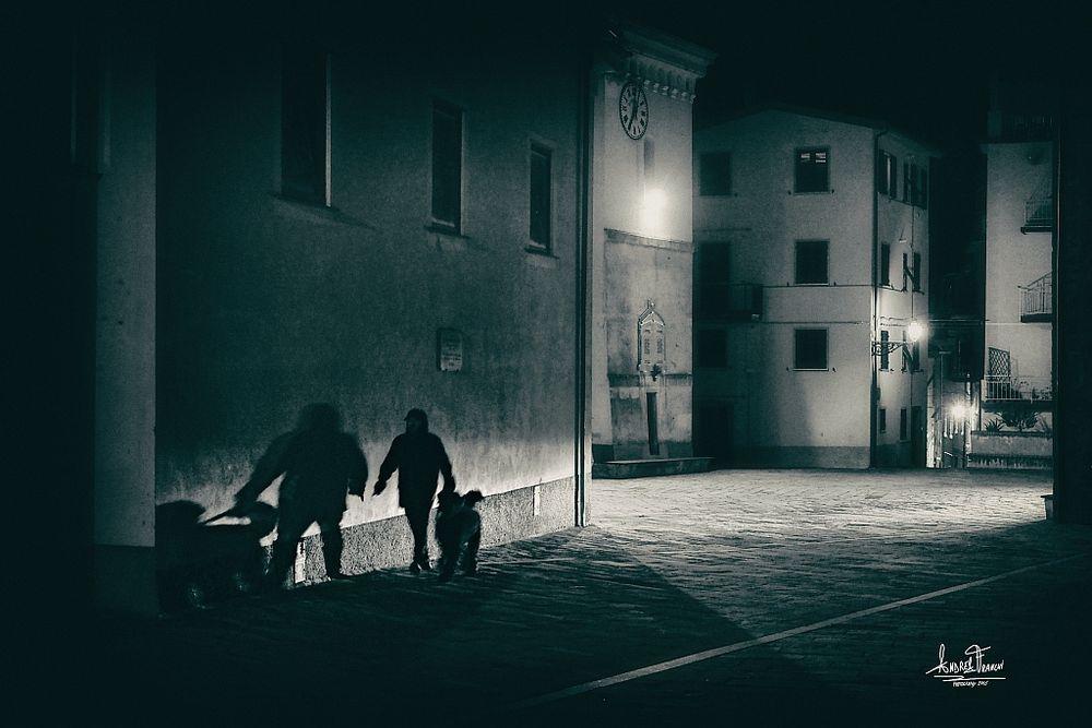 Cinque Terre by night