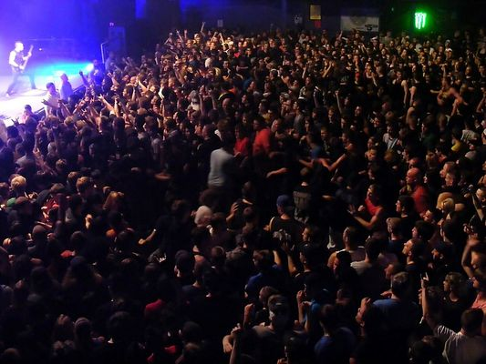 Circle pit at Bullet For My Valentine