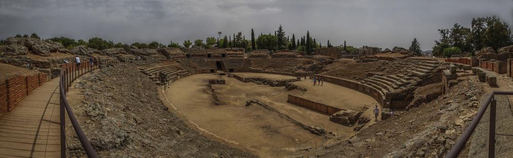 Circo romano de Mérida (Cáceres Extremadura España)