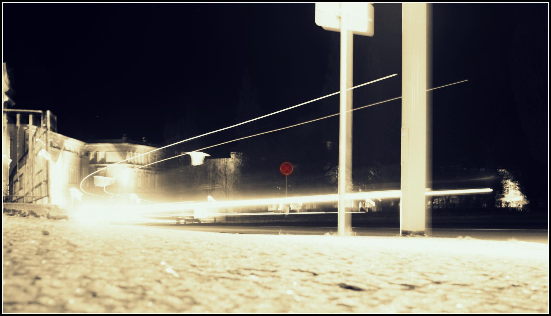 Circus bei Nacht