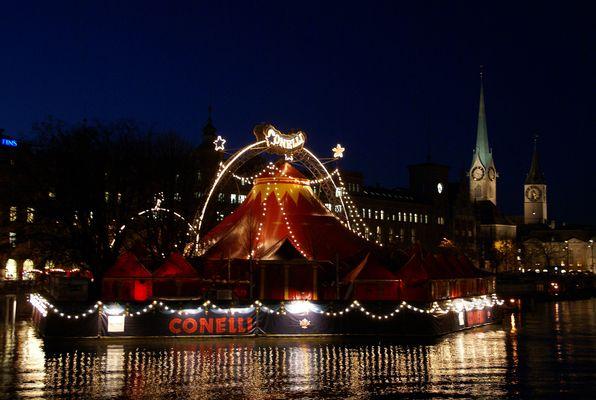 ..Circus Conelli bei Nacht..