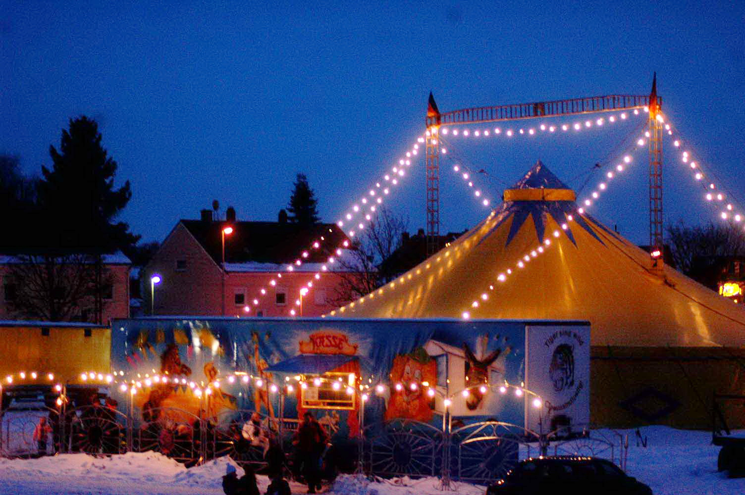 Circus Renz Weihnachtscircus in Oberursel