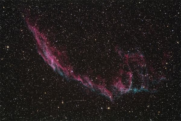 Cirrusnebel (östlicher Teil) - NGC6992/5