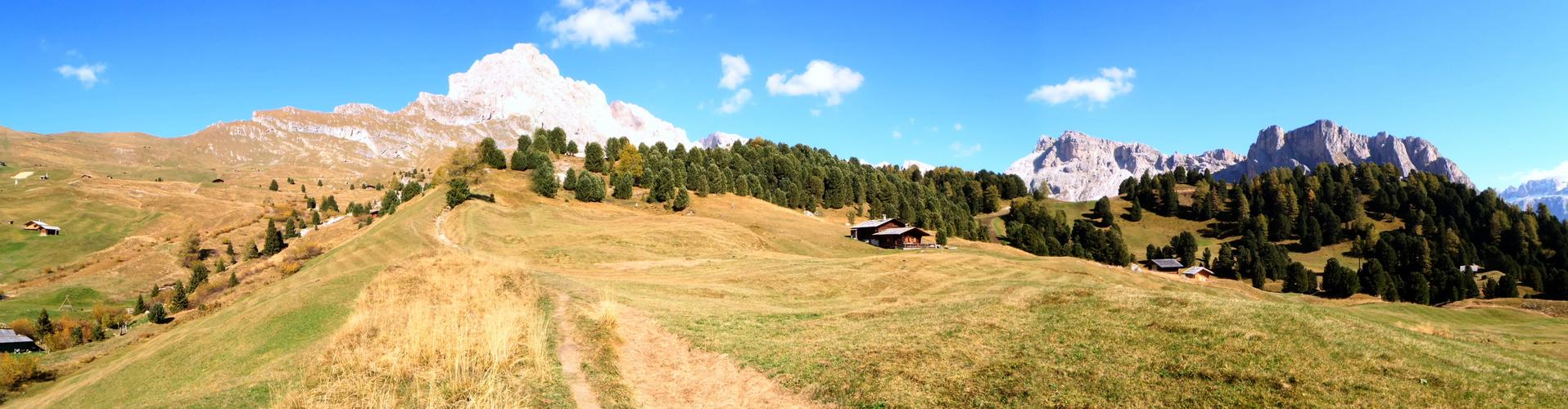 Cisles-Alm Panorama