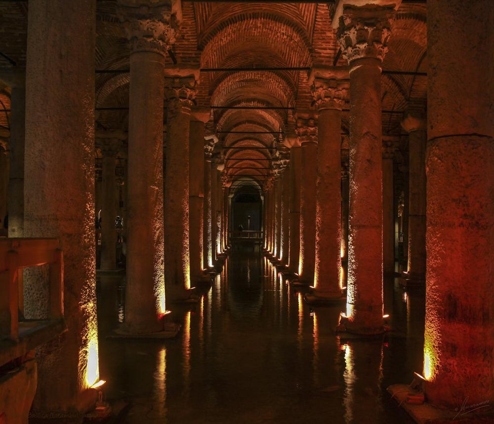 Cisterna Basílica (Estambul Turquía)