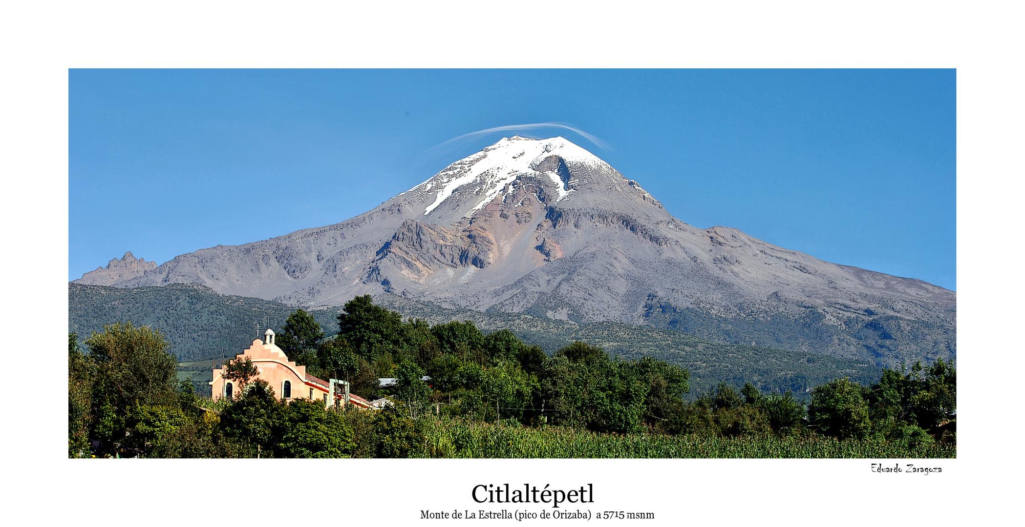 Citlaltépetl (Monte de la Estrella)