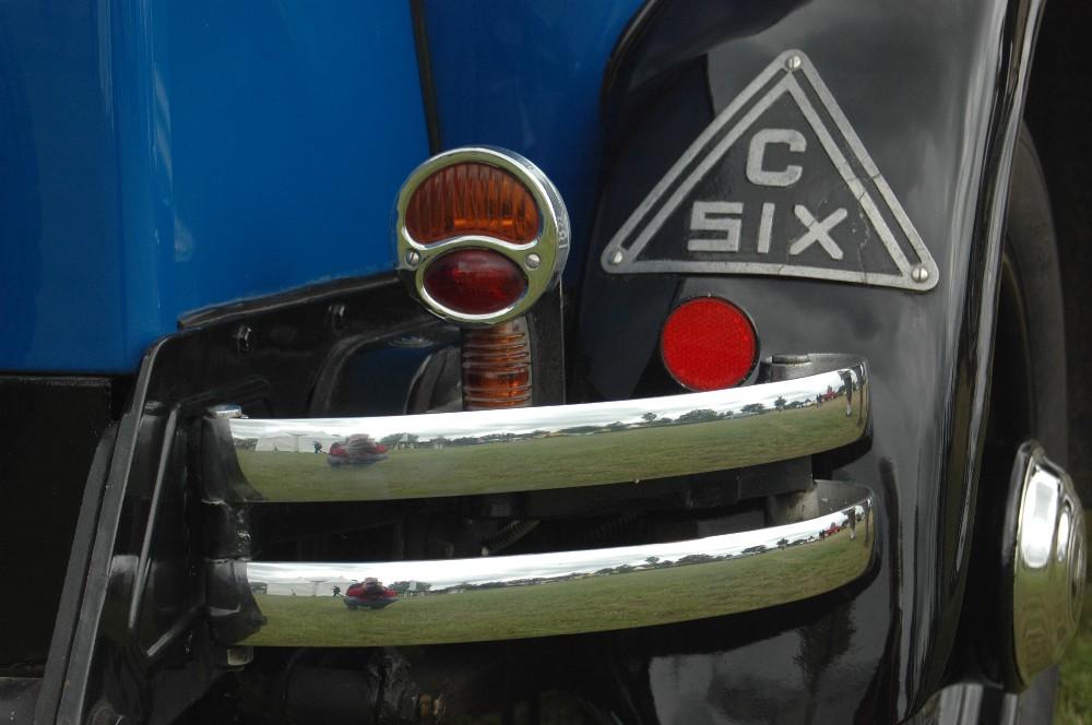 Citroen  C6 Detail-Ansicht hinten