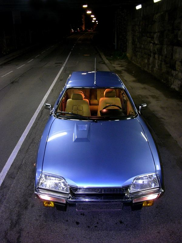 Citroen CX Tunnelblick