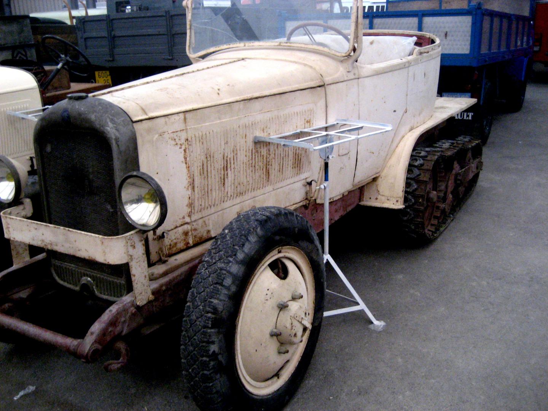 Citroën de la croisière jaune
