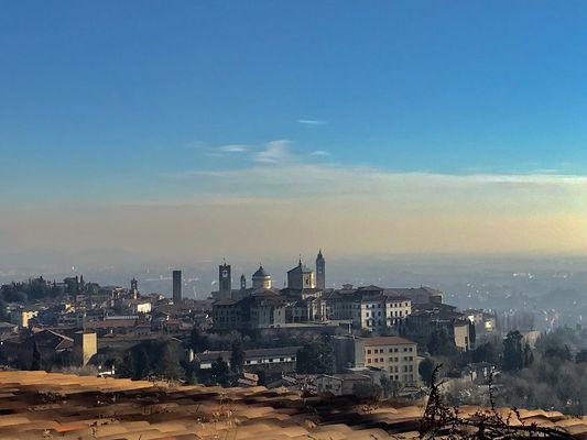 Città Alta vista da San Vigilio
