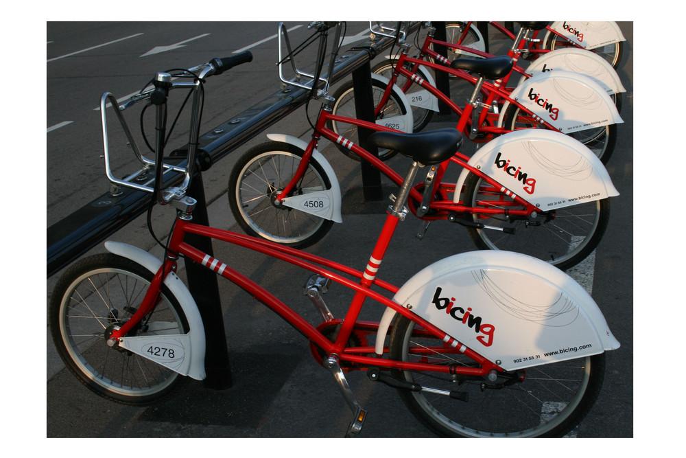 City biking