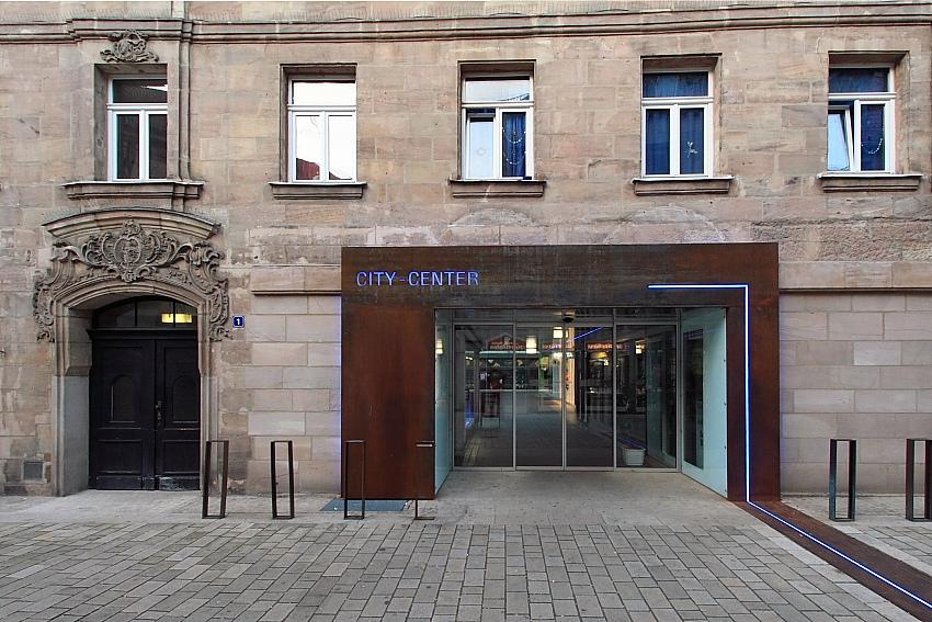 City Center Fürth - Alte und neue Türen