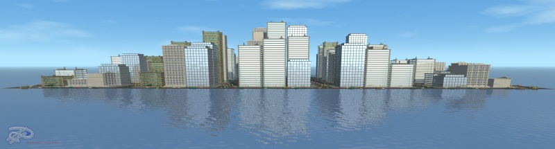 city in water