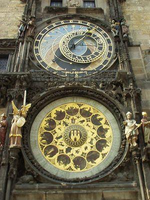 city of prague a famous clock