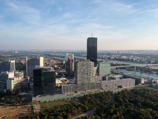 CITY Pano vom Donauturm heute