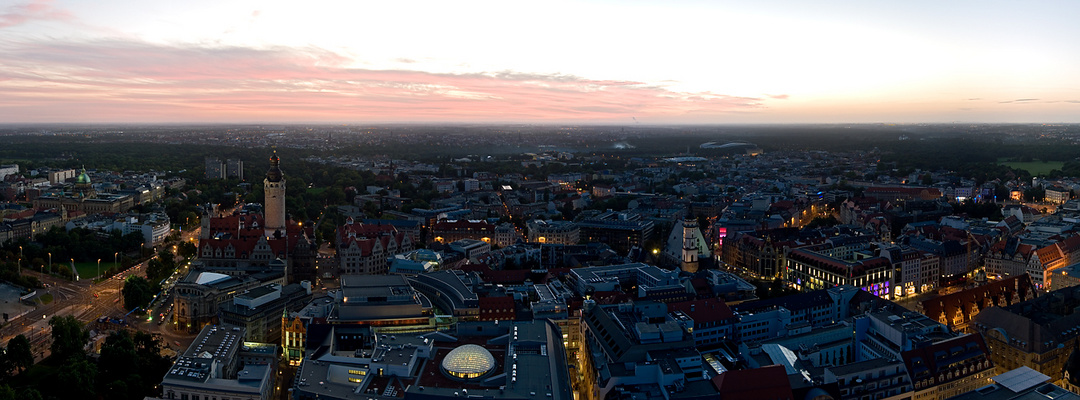 City-Panorama Leipzig