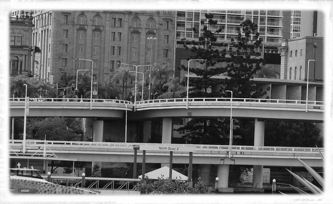 city & traffic scape