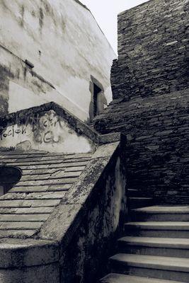 City wall of Lugo / Threshold