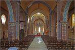 Civray - L'intérieur de l'Eglise Saint-Nicolas (XIIème siècle)