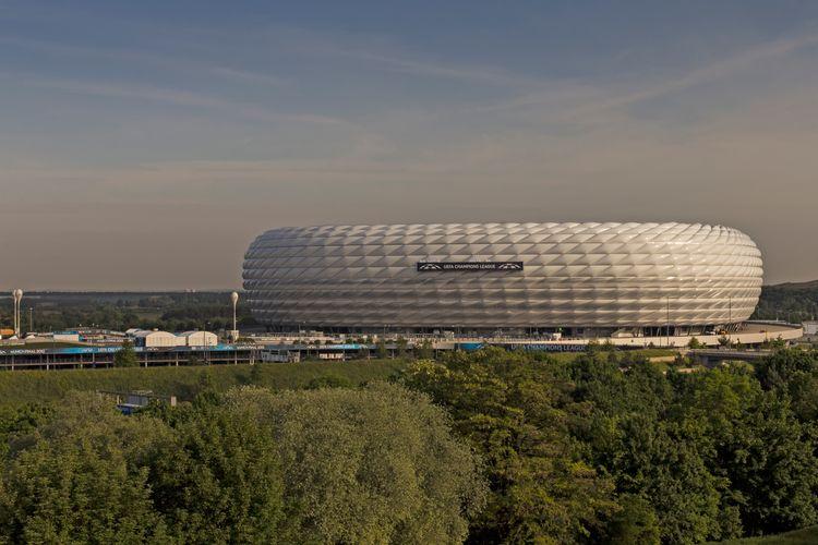 CL Finale Stadion München - Allianz Arena