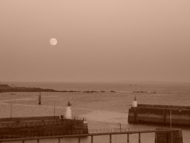 Clair de lune à Quiberon