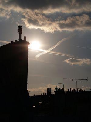 clair de soleil sur les toits