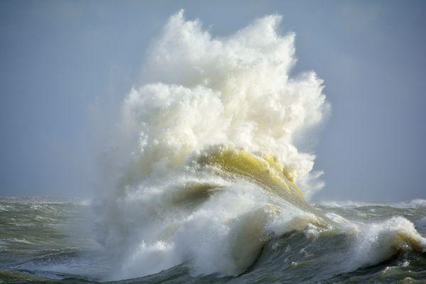 Claque d'océan