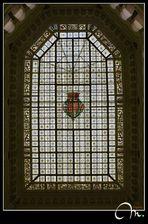 Claraboya - Palacio de Cibeles III (interior)
