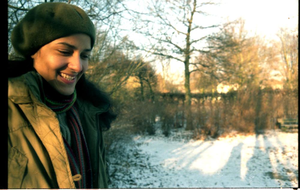 Clarisse im analogen Hamburger Winter 3