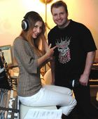 Claudia Ciesla und Sören Schnabel im Studio