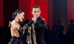 Claudia Köhler und Benedetto Ferruggia beim Tango 2
