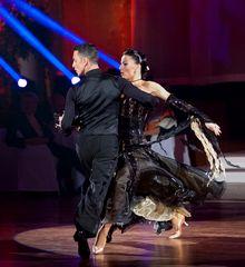 Claudia Köhler und Benedetto Ferruggia beim Tango 3