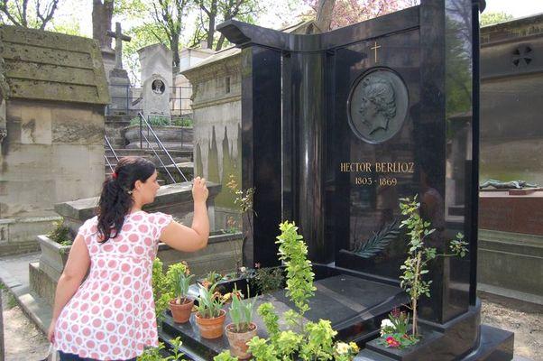 Claudia rend hommage à Berlioz!