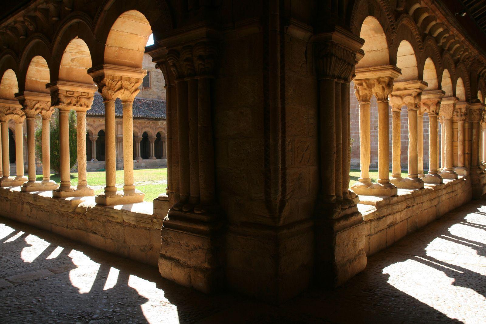 Claustro de la Concatedral de Soria (Castilla-León)