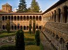 Claustro Monasterio Santa María de Ripoll (Ripoll Girona Catalunya)