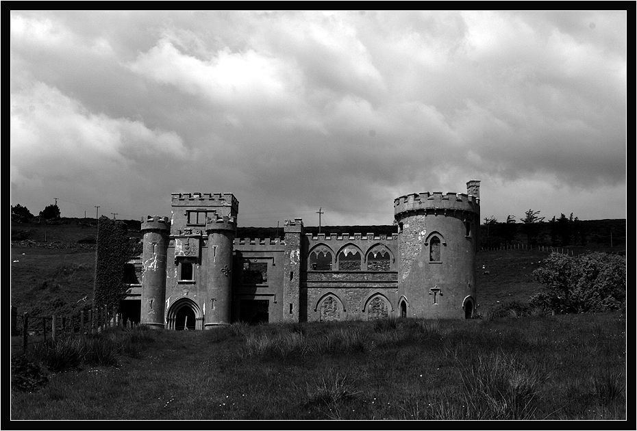 Clifden Castle....