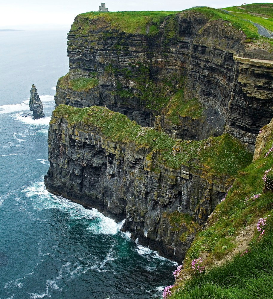 cliffs of moher irland foto bild landschaft meer strand steilk sten bilder auf. Black Bedroom Furniture Sets. Home Design Ideas