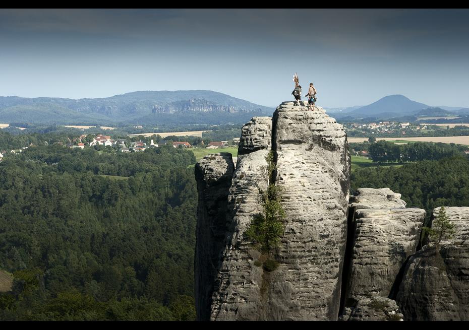 * climbing *