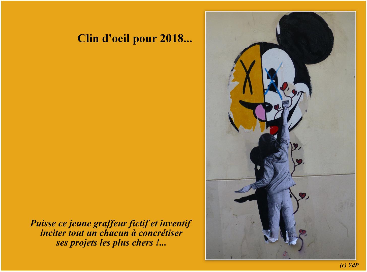 Clin d'oeil pour 2018...