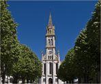 Clocher de l'Eglise Notre-Dame de Nérac (1868) en Lot-et-Garonne